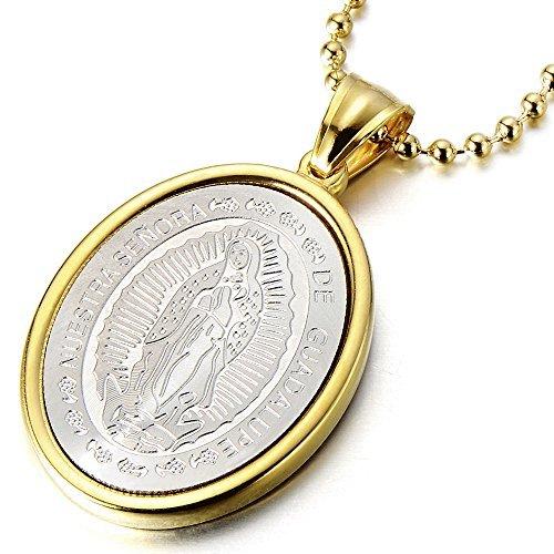 d4ba82c748d0 COOLSTEELANDBEYOND Medalla Milagrosa Virgen María Marry