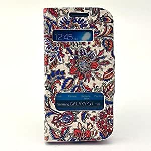 WEV sold out Classical Flowers Pattern Twinkle Leather Open Window Case for Samsung Galaxy S3 I9300