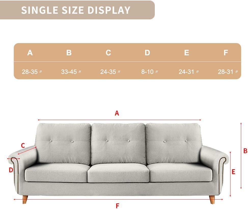 Sessel Couch SearchI Sofabezug Sofa /Überw/ürfe Elastisch Sofahusse Stretch Sofa Abdeckung Hussen f/ür Sofa