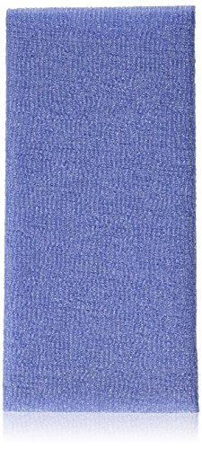 Bath Accessories Skin Polishing Towel, Purple