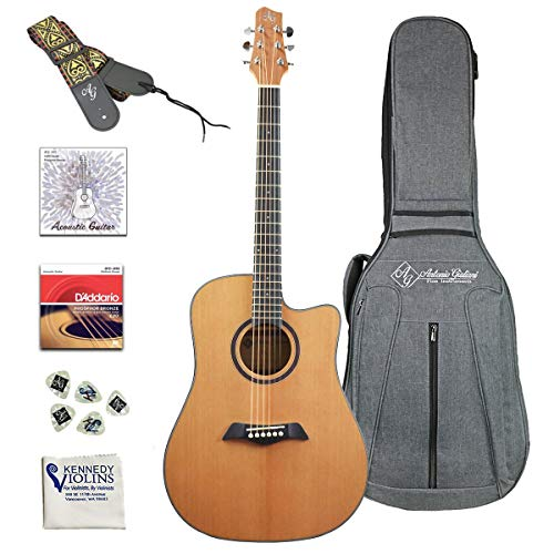 Antonio Giuliani DN Steel-String Dreadnought Cutaway Acoustic Guitar (DN-2 Clearance)