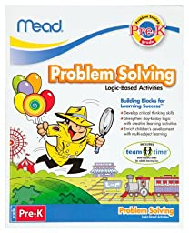 Mead Pre-K Problem Solving Workbook, 10 x 8-Inches, 96 Pages (48024)