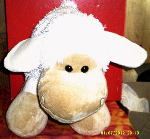 Big Wooly Sheep Plush Lamb Doll 12 ()
