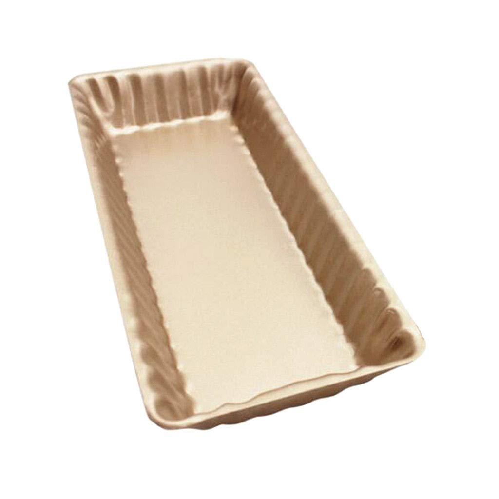 Rectangle Cake Baking Pan Nonstick Stainless Steel Pan Toast Oven Best Tray Gold