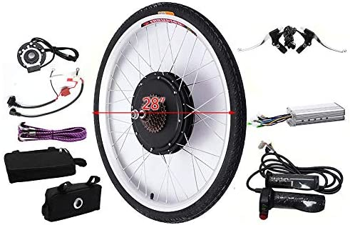 KAHE2016 Kit de conversión de Motor eléctrico para Bicicleta ...