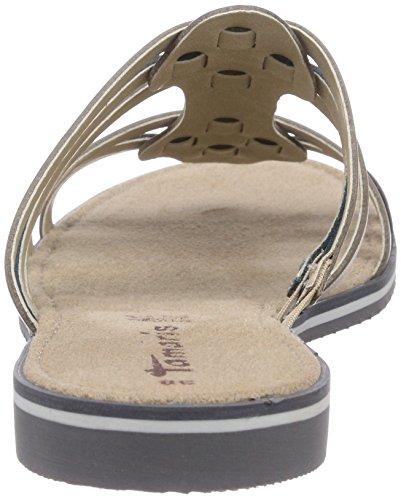 Tamaris 27108 - sandalias abiertas de material sintético mujer multicolor - Mehrfarbig (Grey Comb 221)