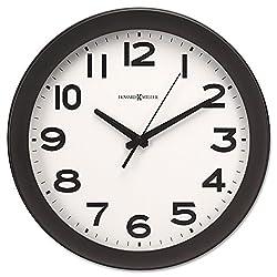 - Kenwick Wall Clock, 13-1/2, Black by MOT4