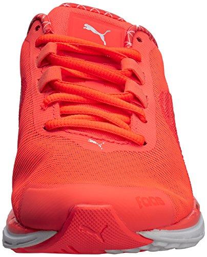 Warm Power 500 Metallic Faas Femme silver Coral fiery Orange V4 Sport Chaussures De Puma UI46wq4
