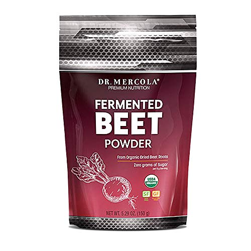 Dr. Mercola Fermented Beet Powder – 5.29 oz – from Organic Beet Roots For Sale