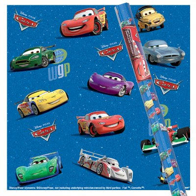 disney-pixar-cars-2-blue-gift-wrap