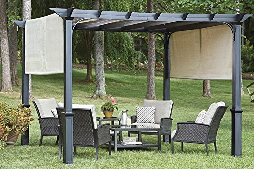 Replacement Canopy Fabric With Ties For Lowes Garden