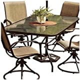 agio international co., inc tgs8hs-n Sienna Collection, 56 -Inch x 36 -Inch Rectangular Dining Table