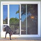 Ideal Pet Products Medium Patio Door-Bronze Finish 77 5/8-80 3/8