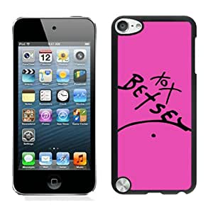 Betsey Johnson 03 Black Personalized Custom iPod Touch 5 5g 5th Protective Case