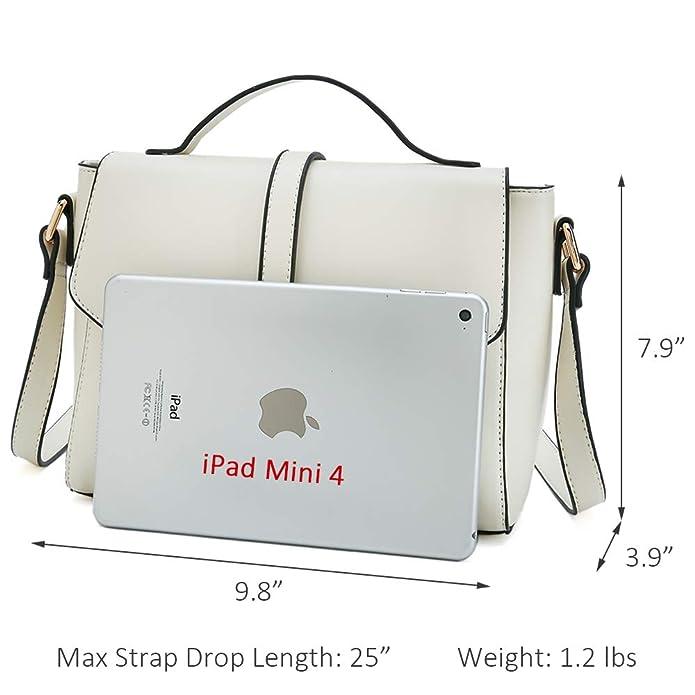 Amazon.com: Bolsos de hombro para mujer, diseño de cruz ...