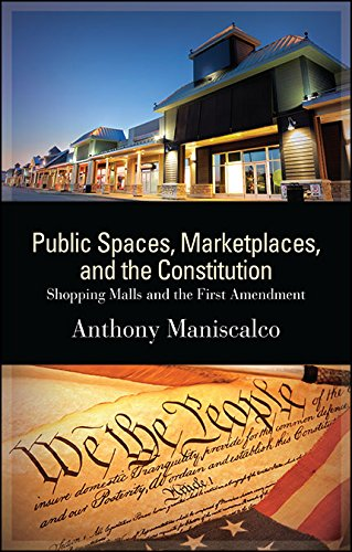 Public Spaces, Marketplaces, and the Constitution: Shopping Malls and the First Amendment (SUNY series in American - Centre Civic Shopping