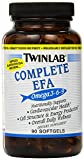 Twinlabs Complete EFA Softgels, Omega 3-6-9,  90 Count  (Pack of 2)