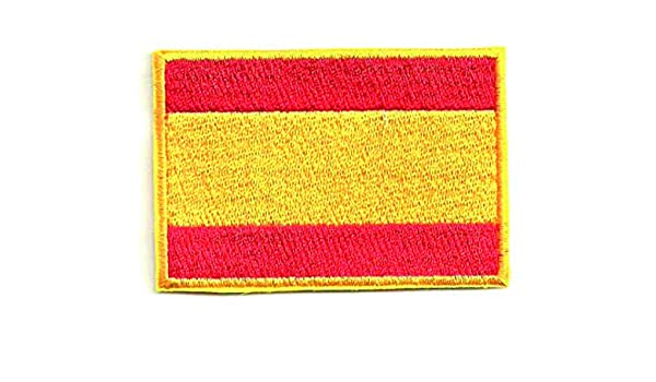 losparches Parche bordado BANDERA ESPAÑA 4CM x 3CM: Amazon.es: Ropa y accesorios