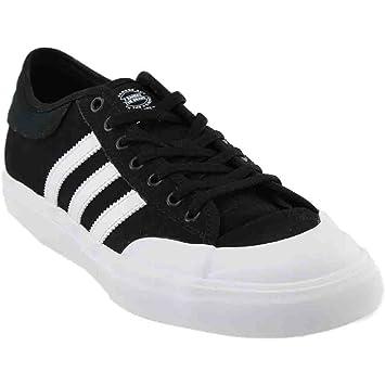 14e6ade331b2 Amazon.com  adidas Matchcourt Adv Black White Skate Casual (B39576 ...