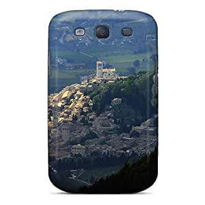 Fashionable Style Case Cover Skin For Galaxy S3- Assisi From Mountain Italy by lolosakes