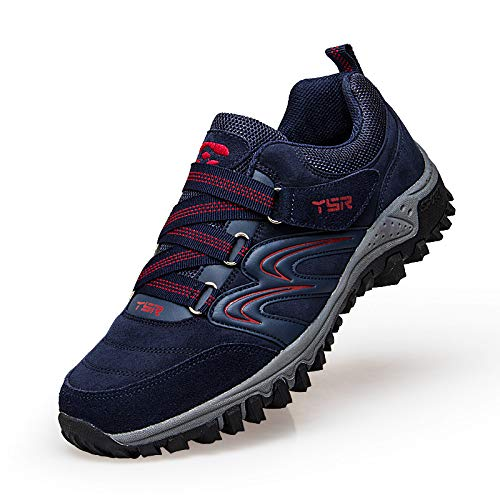 Middle Women'S Non Mother Soft Middle Autumn sho Dark blue Shoes Aged Casual Shoes Shoes Slip Old Female Aged casual Bottom Sports Shoes Walking Shoes Lightweight 0Uaqw
