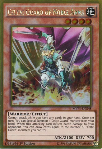 Yu-Gi-Oh! - Celtic Guard of Noble Arms  - The Dark Side of