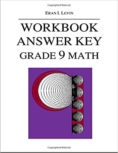 Workbook Answer Key - Grade 9 Math