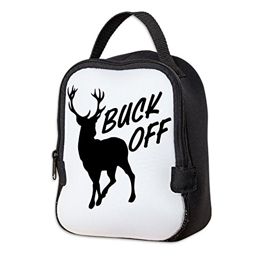 (Neoprene Lunch Bag Buck Off Deer Hunter Hunting)