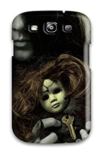 9891480K95809875 Fashion Protective Creepy Ghost Girl Case Cover For Galaxy S3