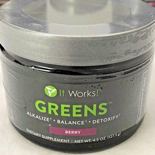 It Works  Greens  4 5 Oz  Berry