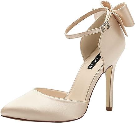 Womens Tango Ballroom PartyBlock Heel Round-Toe Pu Dance-Shoes
