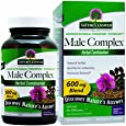 Nature's Answer Male Complex Vegetarian Capsules, 90-Count