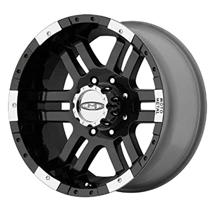 Amazon Com Moto Metal Mo951 Gloss Black Wheel With Machined Face