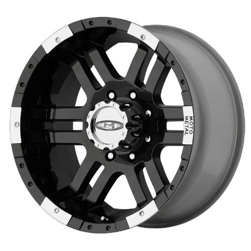 Moto Metal MO951 Gloss Black Wheel With Machined Face (18×9″/6x135mm, +18mm offset)