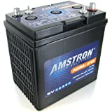 Amstron GC2 6V AGM Golf Cart, Marine, RV Battery