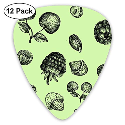 Sunset Pinecones - Horizon-t Pine Cones Assorted Celluloid Guitar Picks Plectrums Guitar Bass