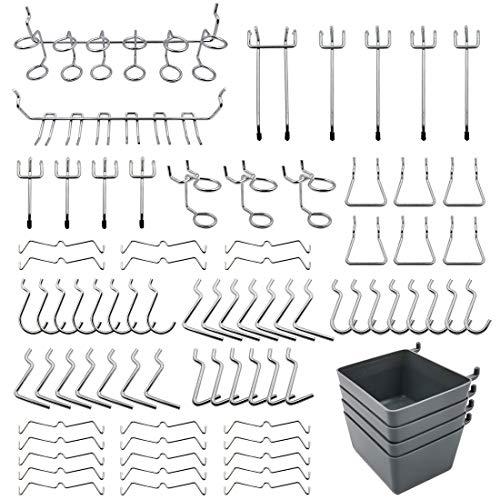 "6 Inch Glass-Fiber Filled Plastic Peg Hooks for 1//8/"" to 1//4/"" Pegboard 10 PACK"