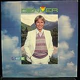 JOHN DENVER IT'S ABOUT TIME vinyl record
