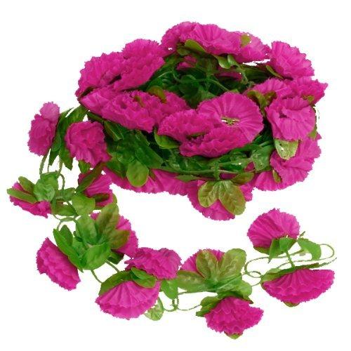 Artificial-Garland-Silk-Flower-Vine-for-Home-Wedding-Garden-Decoration-Shocking-Pink-by-Generic
