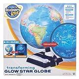 Discovery Kids Glow Star Globe