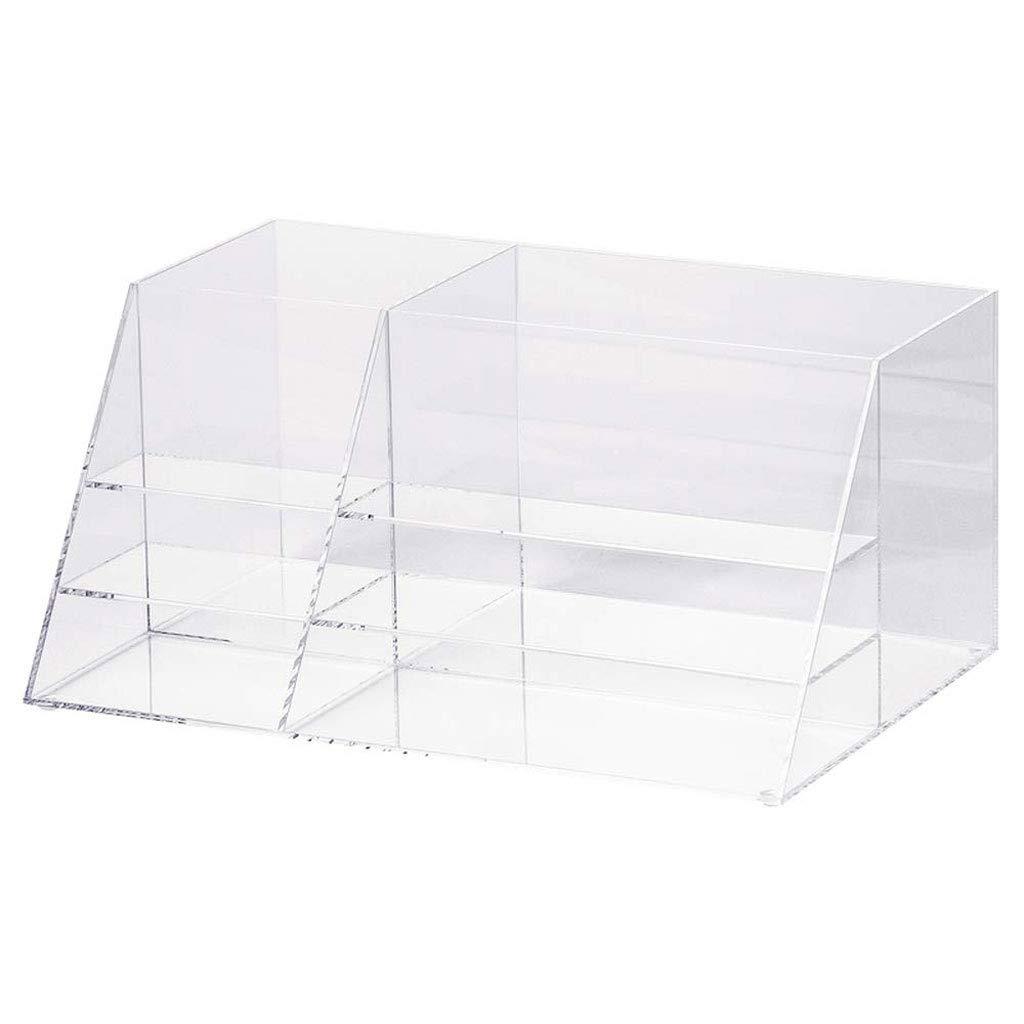 RANRANJJ Creative Storage Box Acrylic Jewelry and Cosmetics Storage Display Box, 352216cm
