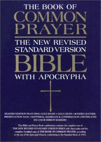 The 1979 Book of Common Prayer and the New Revised Standard Version Bible with the Apocrypha by Not Available (1993-11-11)