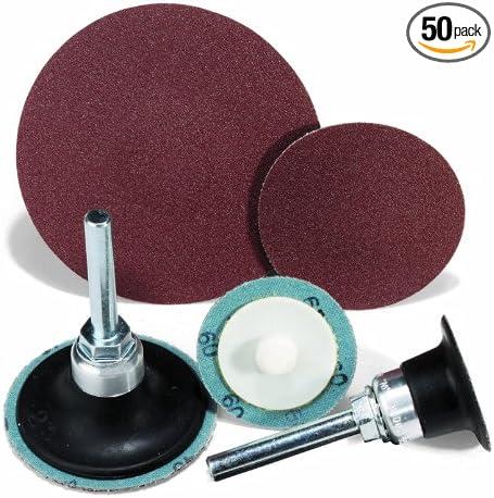 United Abrasives-SAIT 52279 SAIT-Lok-R 2AX 3-Inch 40X Laminated Disc 50 Pack