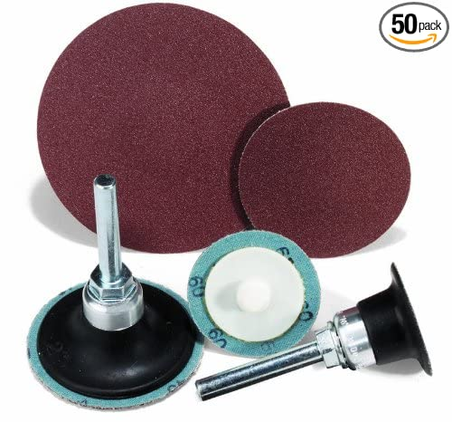 50 Pack United Abrasives-SAIT 52234 SAIT-Lok 2AX 3-Inch 100X Laminated Disc
