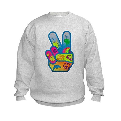 Peace Sign Kids Sweatshirt - 1