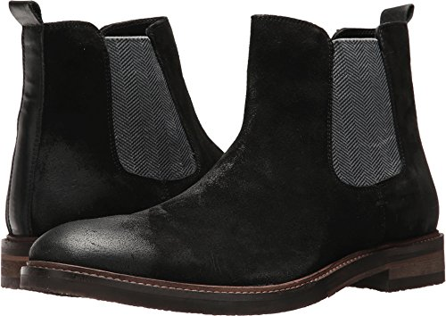 Steve Madden Men's Teller Chelsea Boot, Black Suede, 10 US/US Size Conversion M US by Steve Madden