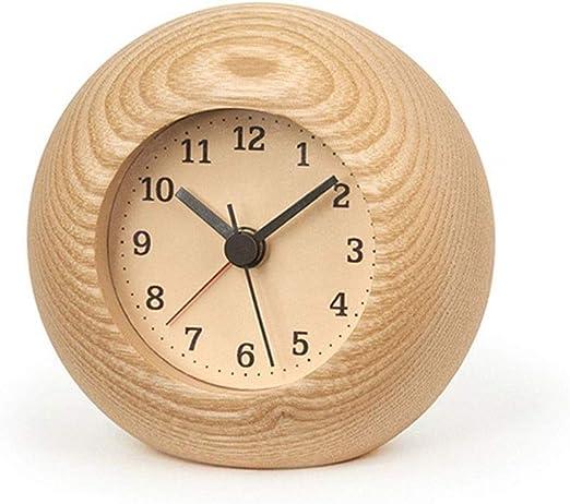GYC .Relojes de Mesa Reloj de Escritorio Reloj de Madera Maciza ...
