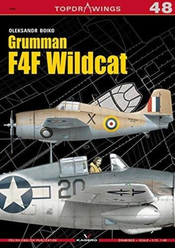 Grumman F4F Wildcat (TopDrawings), used for sale  Delivered anywhere in USA