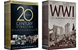 100 Years of History Collection 12-DVD Bundle WW1 100th Anniversary Collection & 20th Century Timeline