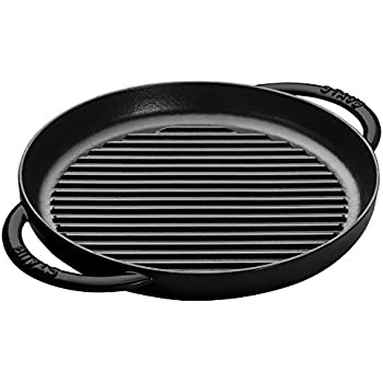 Amazon Com Staub 12 Quot American Cast Iron Square Grill Pan